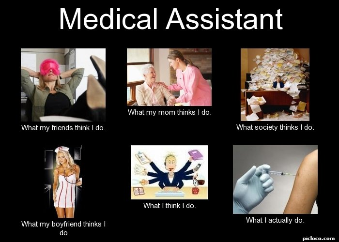 Medical Assistant What my :Perception vs Fact - PicLoco